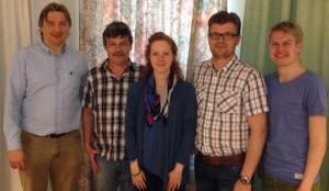 Photo FST styrelse april 2014-2
